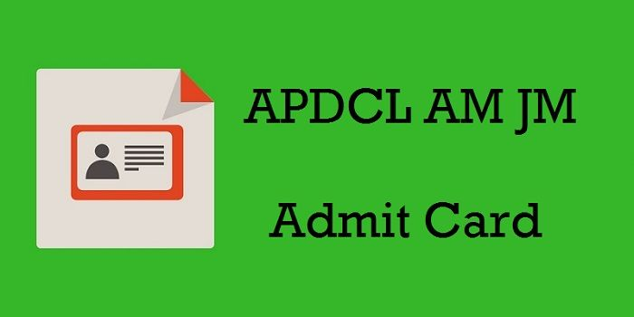 APDCL AM JM Admit Card