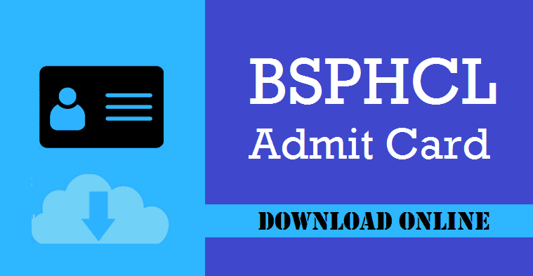 BSPHCL Junior Lineman Admit Card