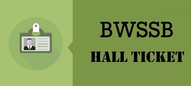 BWSSB Hall Ticket