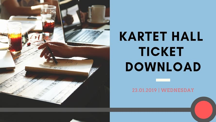 KARTET Hall Ticket