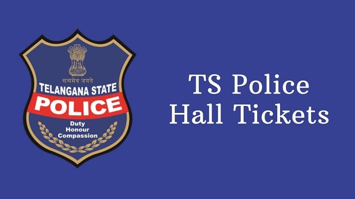 TS Police Hall Ticket